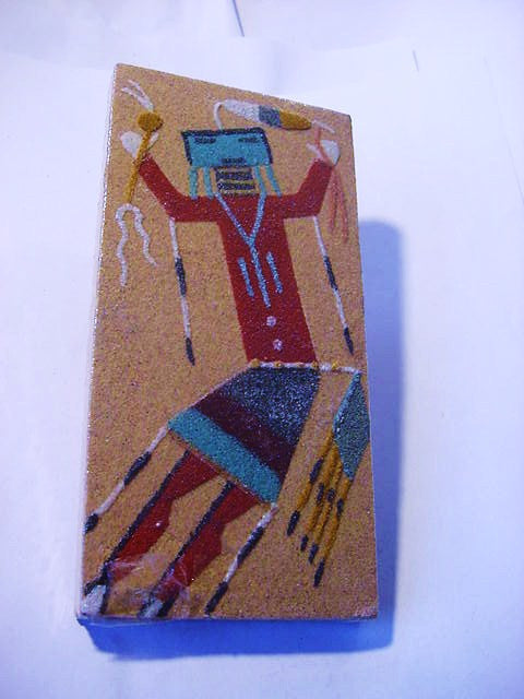 Signed Navajo Sand Art Image - Roadshow Collectibles