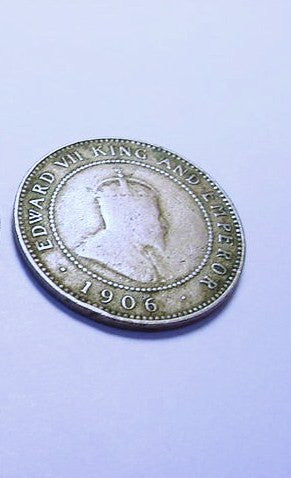 Edward VII 1906 Jamaican Half Penny - Roadshow Collectibles