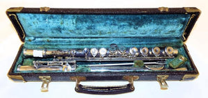 Collegiate Elkhorn Flute, Frank Holton & Co, Comes with Case - Roadshow Collectibles