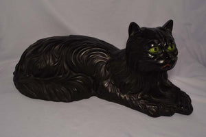 Ceramic Black Cat with Green Eyes That Just Pop Out At You - Roadshow Collectibles