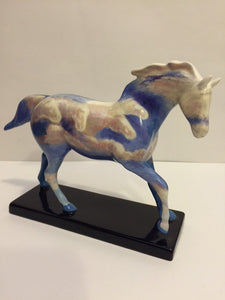 "Highly Collectible Retired Porcelain PAINTED PONIES ""Wild Stallions"" - Roadshow Collectibles"
