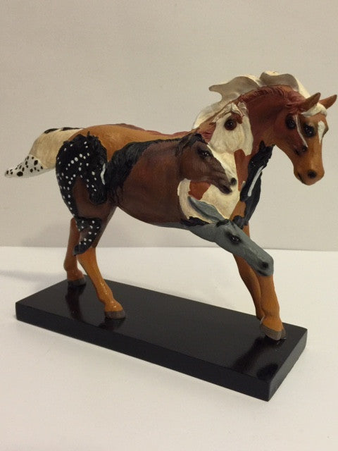 Painted Ponies Wild Stallion, Retired, Porcelain, Highly Collectible - Roadshow Collectibles