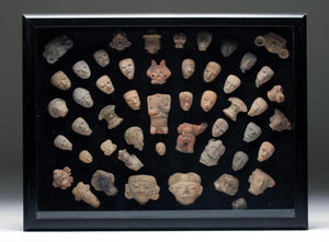 Pre-Columbian Collection Pottery Heads/Torso Figures 300 BCE - 1000 CE - Roadshow Collectibles