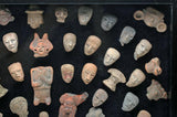 Pre-Columbian Collection Pottery Heads, Torso Figures 300 BCE-1000 CE - Roadshow Collectibles