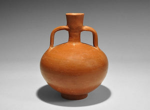Gallo-Roman Redware Jug, High Gloss, 1st-2nd Century A.D - Roadshow Collectibles