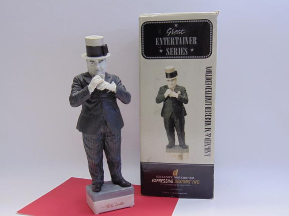 W.C. Fields Ceramic Figurine from The Great Entertainer Series - Roadshow Collectibles