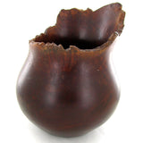 Madagascar Vase, Hand Carved By Betsileo Tribe Artisans, Rosewood - Roadshow Collectibles