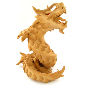Chinese, Dragon, Handcrafted From Teak Sawdust - Roadshow Collectibles