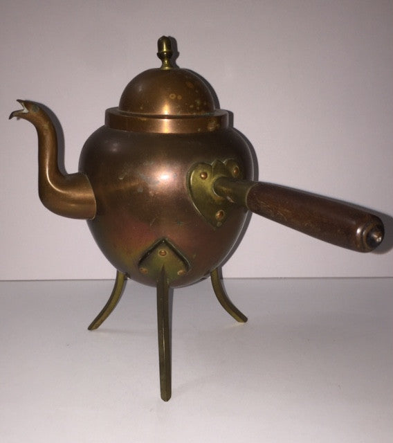 19th Century Pre-Electricity Copper Kettle - Roadshow Collectibles