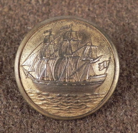 Swedish Sporrong & Co Naval Military Button - Roadshow Collectibles