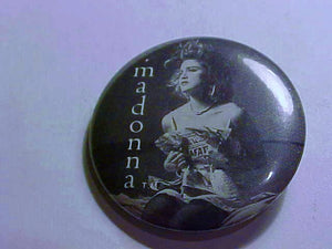 Madonna Concert Button, Like a Virgin Tour 1984, Hard to Find. - Roadshow Collectibles