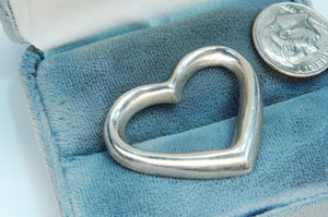 Sterling Silver Heart Pendant - Roadshow Collectibles