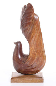 Stylized Dove, Hand Carved, Beautiful Lines - Roadshow Collectibles