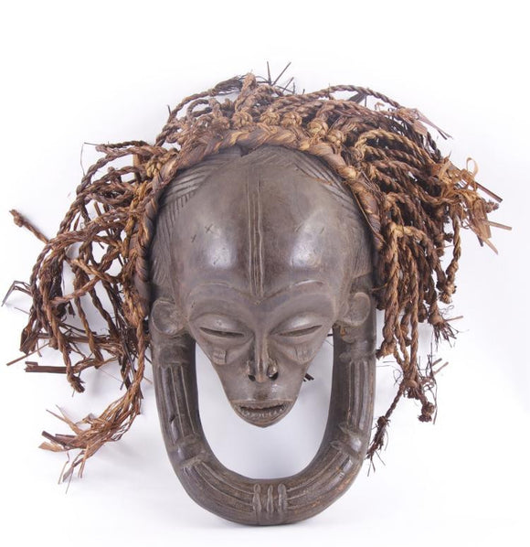 African Chokwe Ceremonial Wood Mask 19th - 20th Century - Roadshow Collectibles
