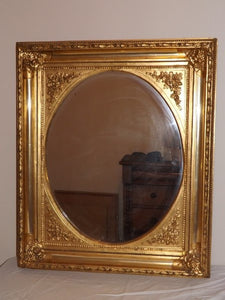Large Ornate Gold Framed Mirror - Roadshow Collectibles