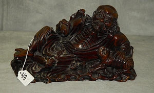 Sage Reclined Wise Man, Stone, Hand Carved, Chinese - Roadshow Collectibles
