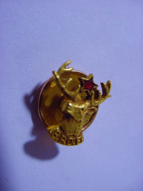 Elks Club Button Pin, B.P.O.E The Benevolent Protective Order Of Elks - Roadshow Collectibles
