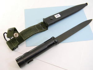 Military Rifle Bayonet with Sheath - Roadshow Collectibles
