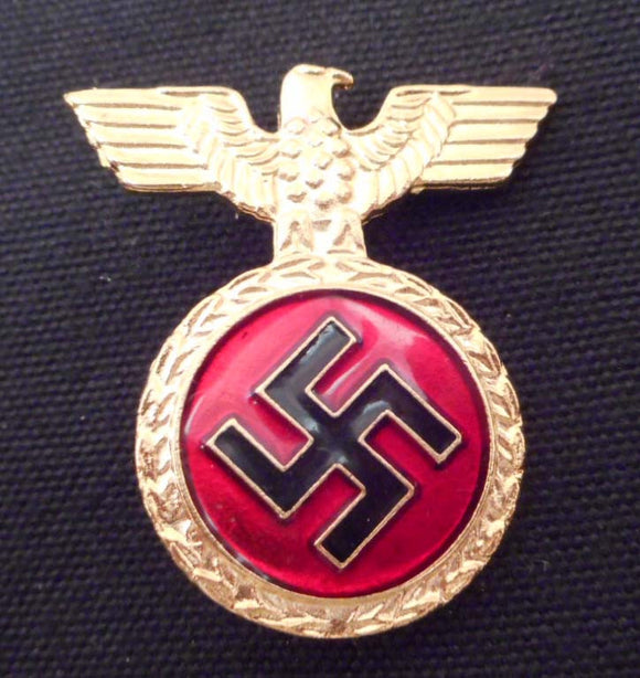 Nazi German Enameled NSDAP Honor Badge in Gold - Roadshow Collectibles