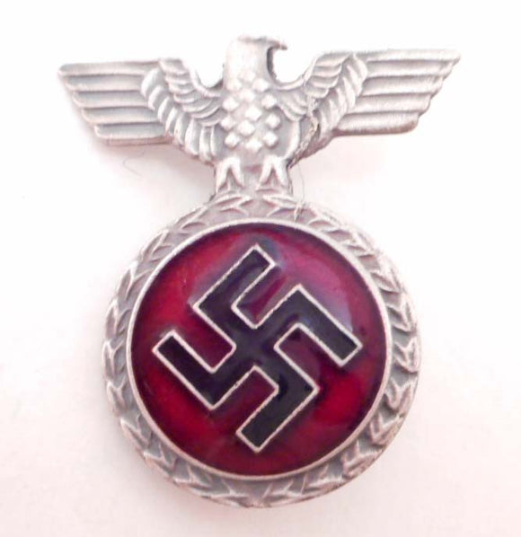 Nazi German Enameled NSDAP Honor Badge in Silver - Roadshow Collectibles
