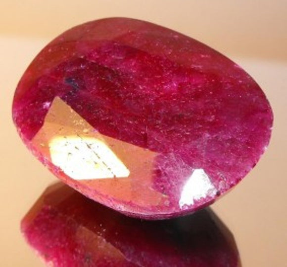 Natural Oval Cut Ruby Gemstone, Africa - Roadshow Collectibles