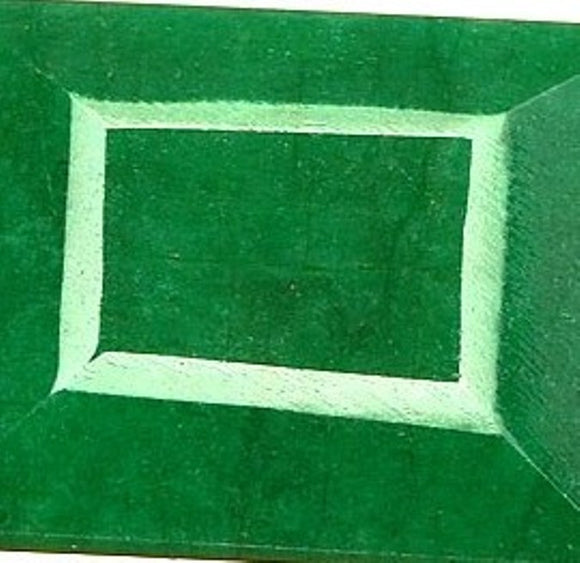 Green Emerald Square Cut Gemstone, Africa - Roadshow Collectibles