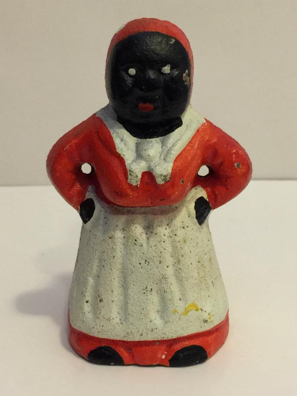 Black Americana, Old Aunt Jemima Bank, Cast Iron - Roadshow Collectibles