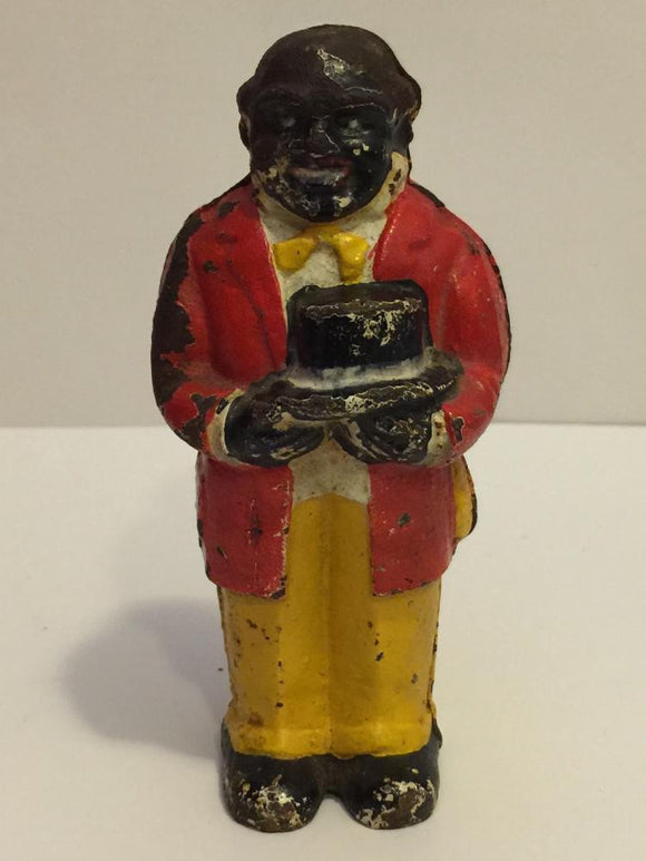 Black Americana, Old Uncle Moses Bank, Cast Iron - Roadshow Collectibles