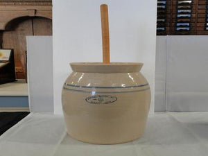 Marshall Pottery, Butter Churn, Stoneware Pottery No 5 - Roadshow Collectibles