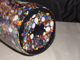 Multi-Color Blown Glass Vase Hand Made in Poland - Roadshow Collectibles