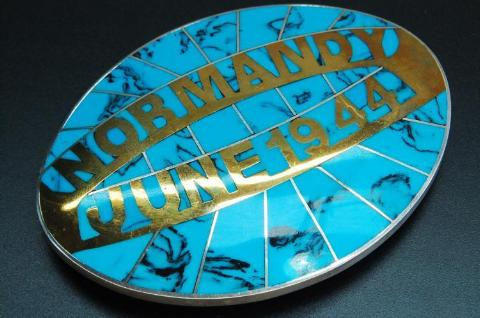 Normandy June 06, 1944 Belt Buckle - Roadshow Collectibles