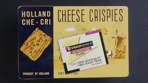 Roka Che-Cri Cheese Crispies Tin, The Original Cheese Biscuits Holland - Roadshow Collectibles