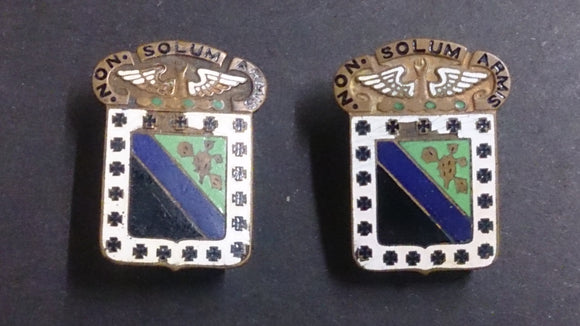 A Pair of WWII POW Brass & Enamel US Military Pins - Roadshow Collectibles
