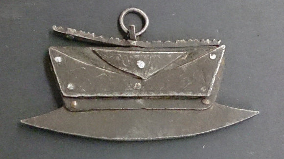 Chinese Lock Depicting a Chopper Blade - Roadshow Collectibles