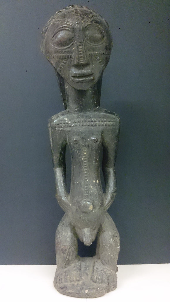 Congo Africa, Hand Carved By The Tabwa Tribe, Figure Of a Male - Roadshow Collectibles