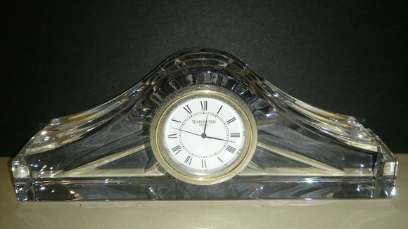 Waterford Crystal Desk Clock - Roadshow Collectibles