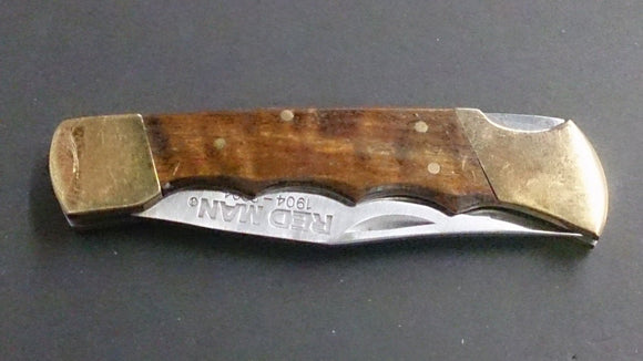 Red Man Folding Pocket Knife 1904-2004 Commemorative 100th Anniversary - Roadshow Collectibles