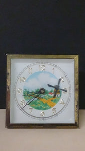 German Made Mini Desktop Clock with a Picturesque Countryside Scene - Roadshow Collectibles