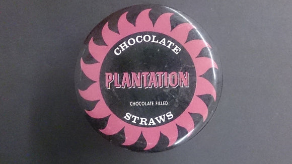 Chocolate Plantation Chocolate Filled Straws, Tin - Roadshow Collectibles