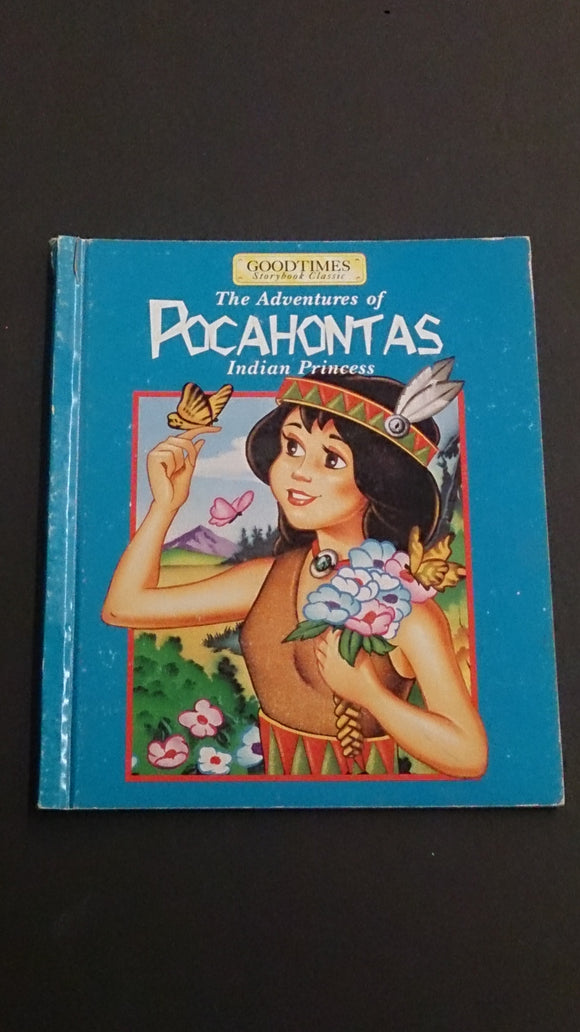 Hard Cover, The Adventures of Pocahontas Indian Princess By W.S Craig - Roadshow Collectibles