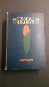 "Hard Cover Book Entitled, ""Desert Drums"" by Leo Crane - Roadshow Collectibles"