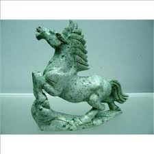 Horse, Running Wild, Hand Carved From One Solid Piece Of Jade, Chinese - Roadshow Collectibles