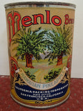 Salesman's Sample Tin Food Can Labeled 'Menlo' Brand Sliced Pineapple - Roadshow Collectibles