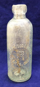 Pacific Soda Works Glass Bottle, Santa Cruz California, Late 1800s - Roadshow Collectibles