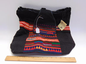 Thailand Akha Tribe Embroidered Tote Bag - Roadshow Collectibles