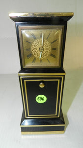 Small Musical Grandfather Shaped Clock with Cigarette Holder - Roadshow Collectibles