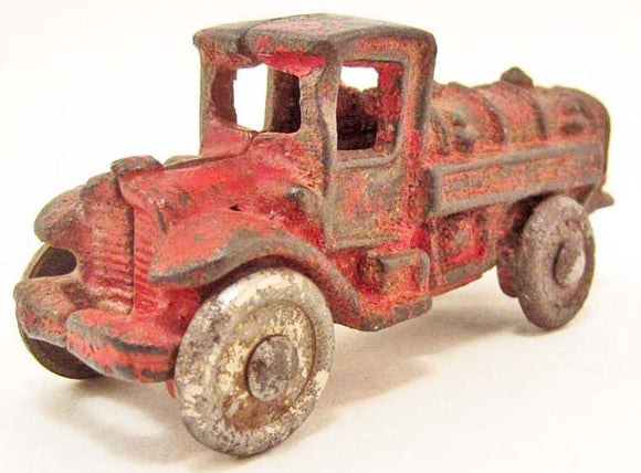AC Williams Gasoline Tanker Truck, Cast Iron - Roadshow Collectibles