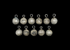 Viking Spherical Silver Diadem Ornament Group - Roadshow Collectibles