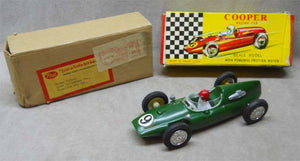 1966 Cooper Racing Car Toy with Original Box and Mailer Box - Roadshow Collectibles