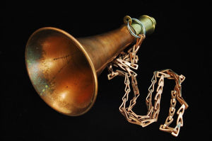 Copper & Brass Nautical Fog Horn - Roadshow Collectibles